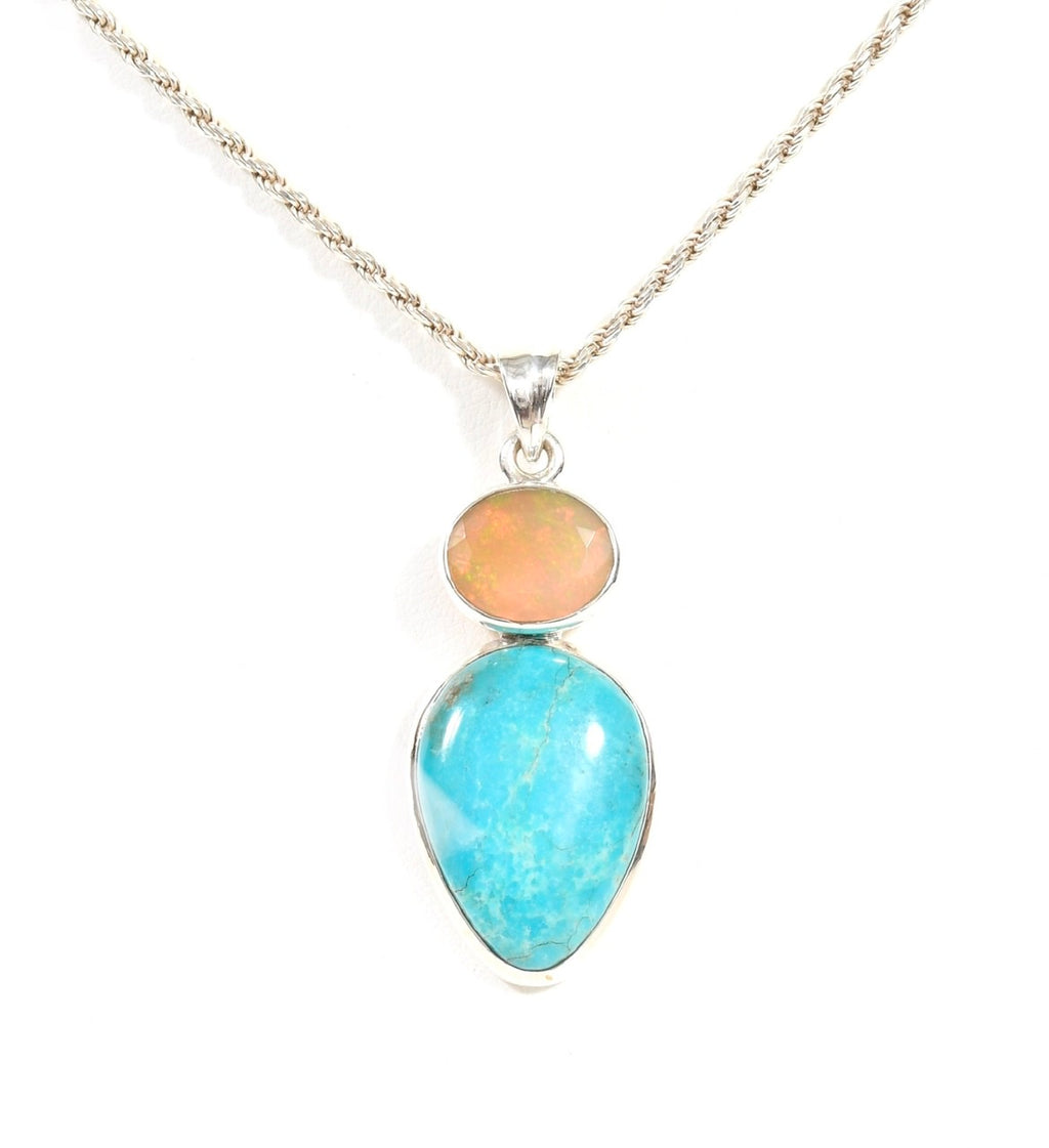 Turquoise Opal