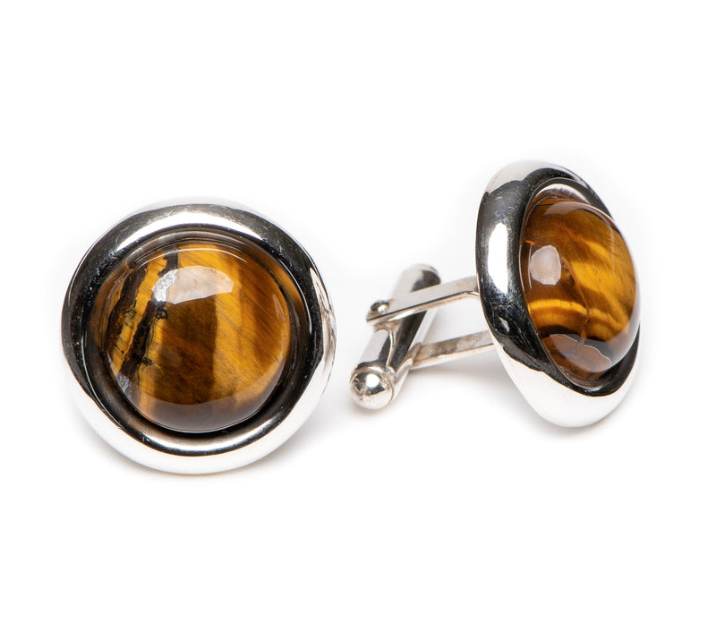 Round 20mm Tiger's Eye
