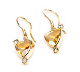 Citrine Diamond Sun Dance