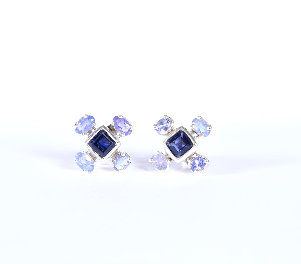 Tanzanite Sky Earrings