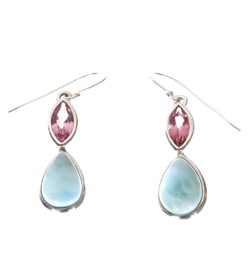 Pink and Blue Dangles