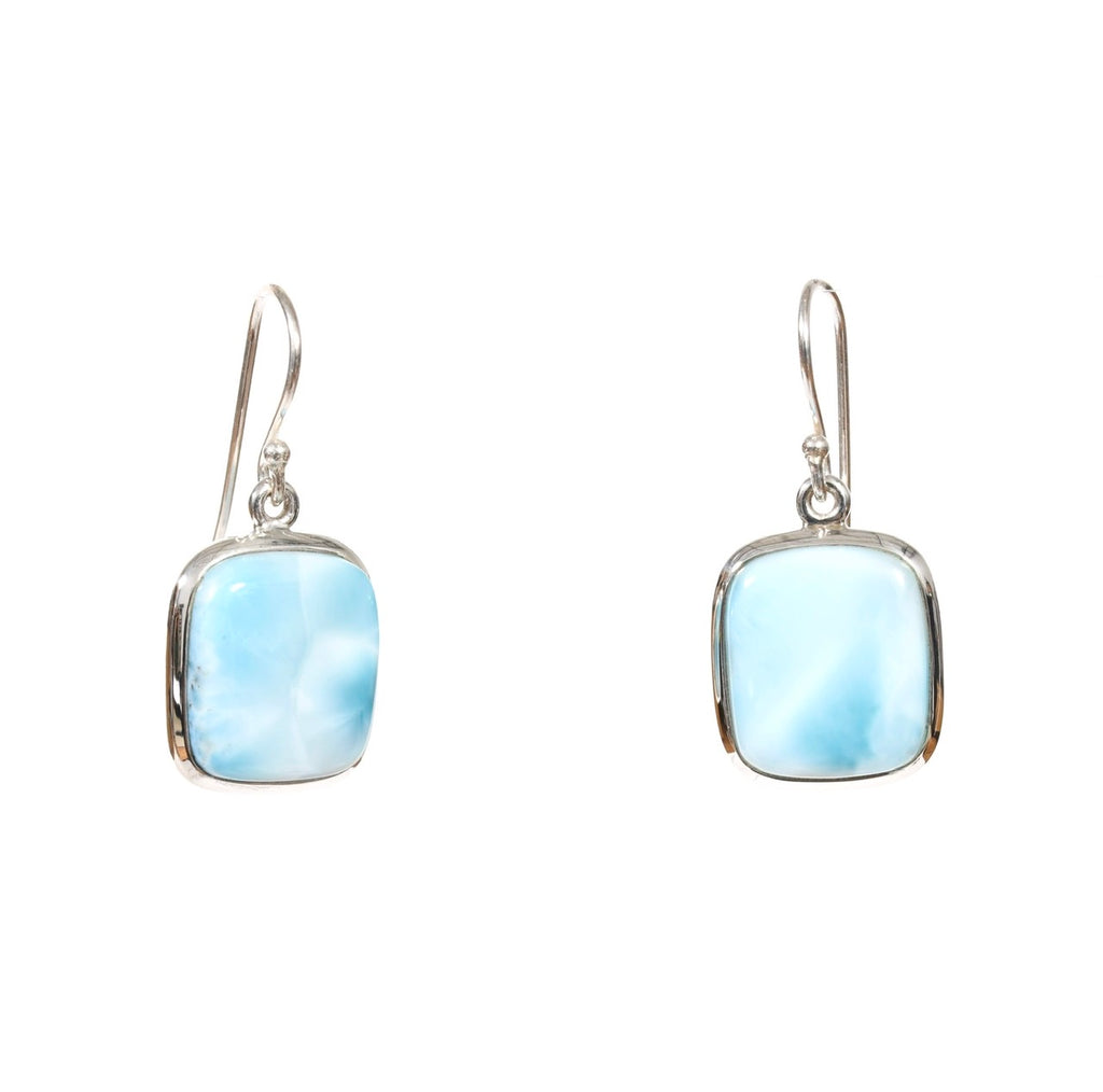 Larimar Rectangle Dangles