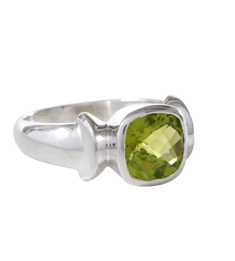 Curved Cushion Peridot