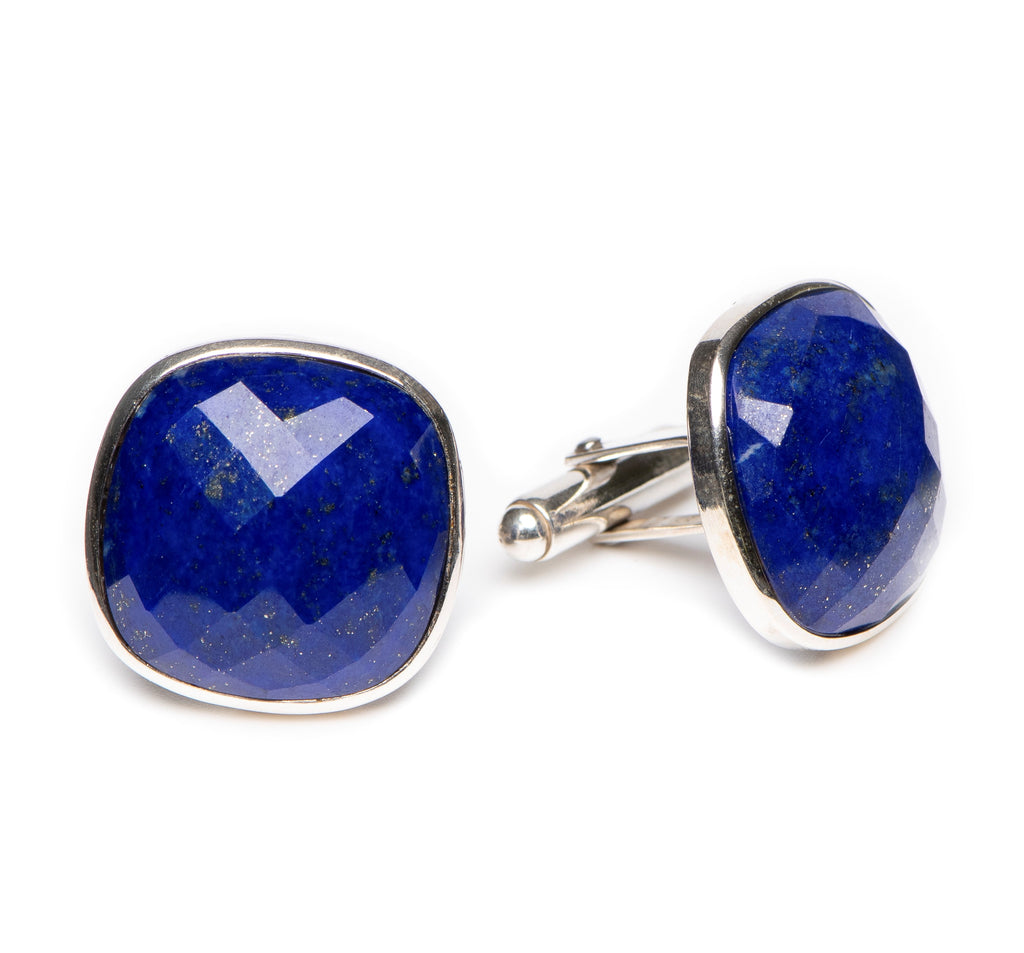 Faceted 20mm Lapis
