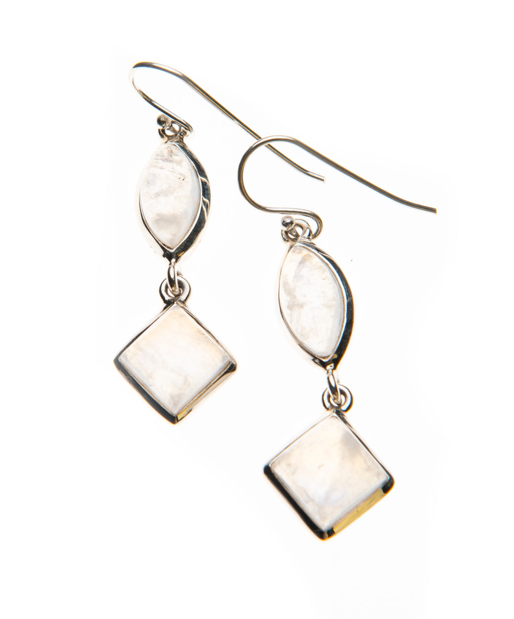 Moonstone Dangle Earrings