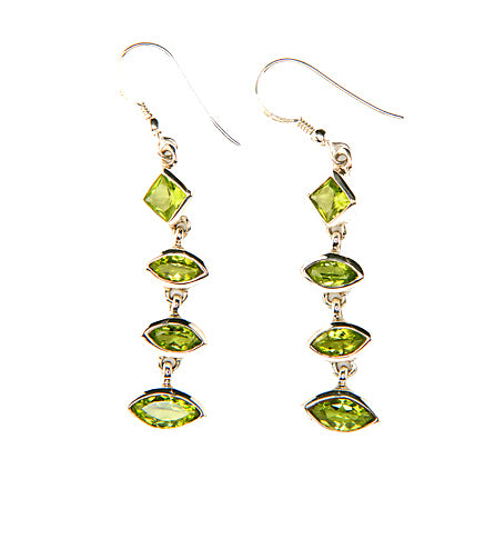 Naomi Peridot Earrings-Sold