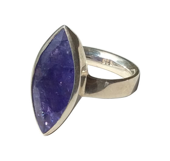 Tanzanite Statement Marquise
