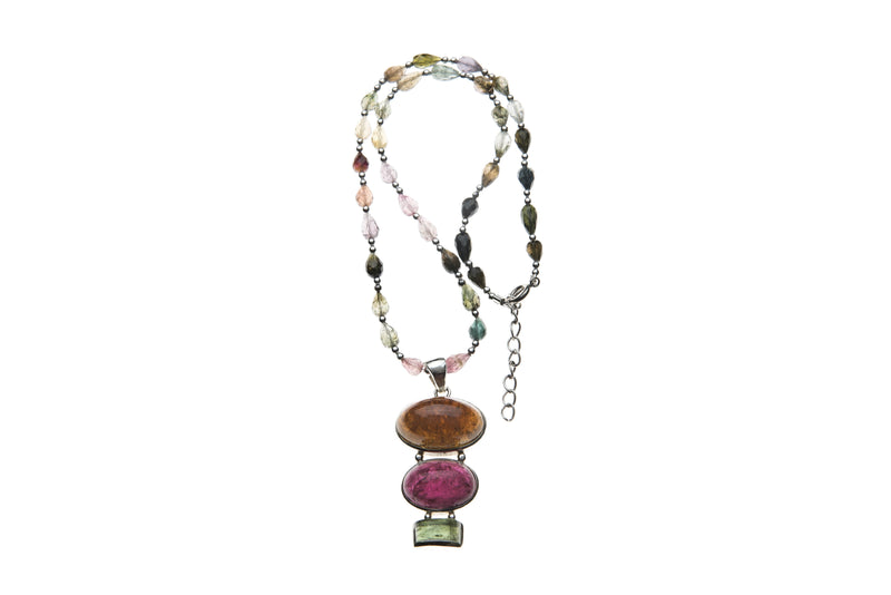 A tourmaline dream with a silver lining-Sold