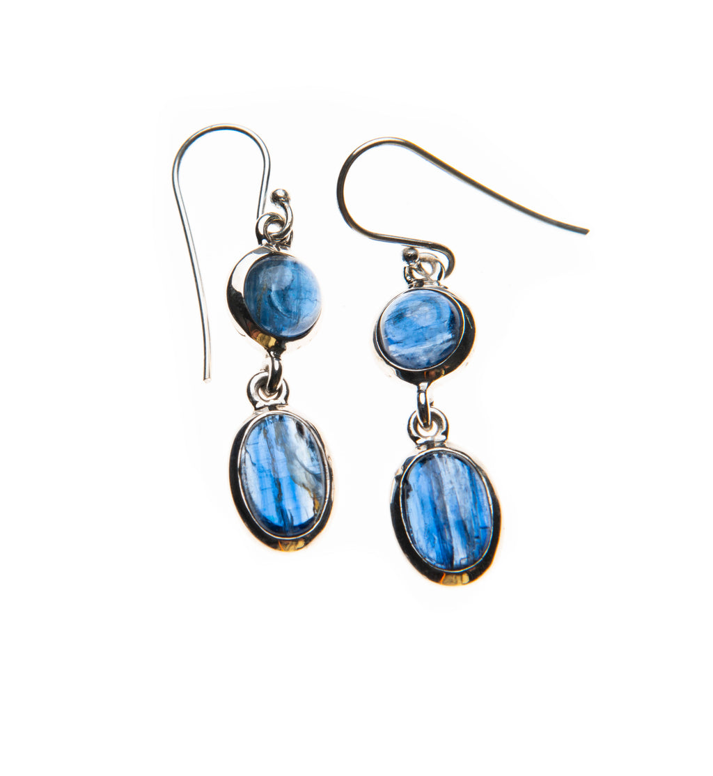 Kyanite Double Dangles