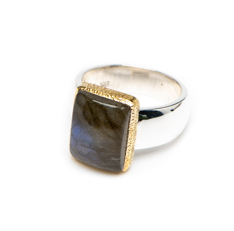 Artisans' Rectangular Labradorite-sold