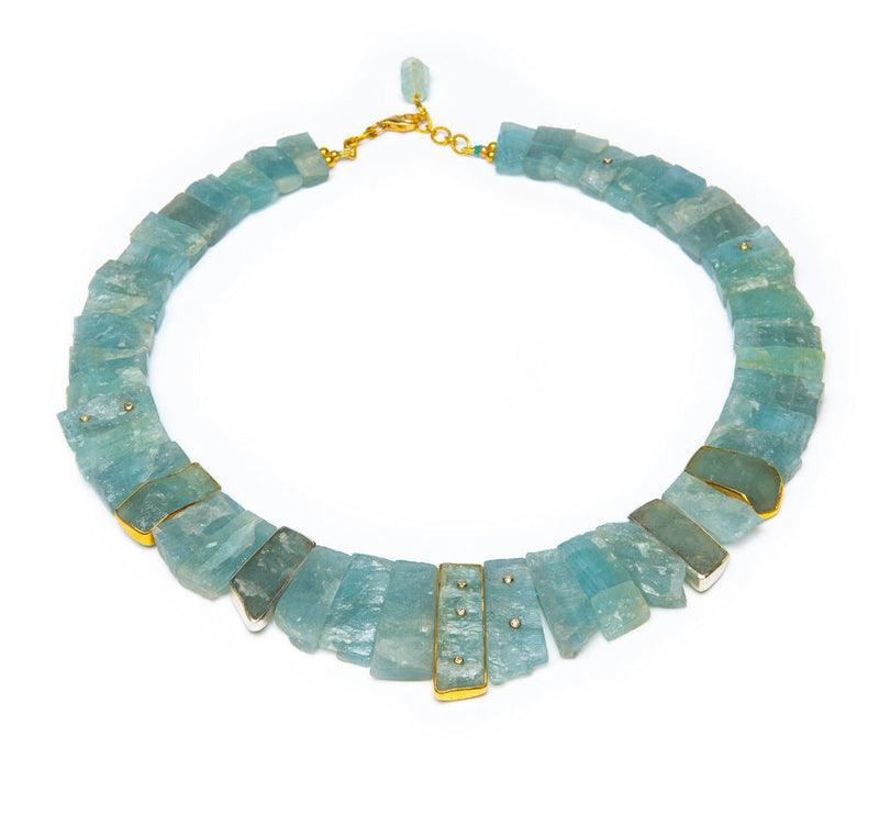 Egyptian Aquamarine Omega