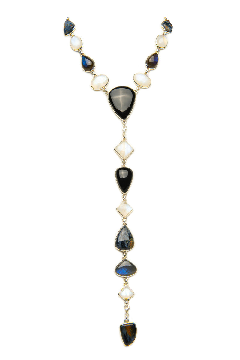 B&W Yasha Necklace Bracelet