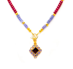 Garnet in Ruby and Tanzanite-sold