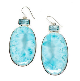 Aretha Aquamarine and Larimar