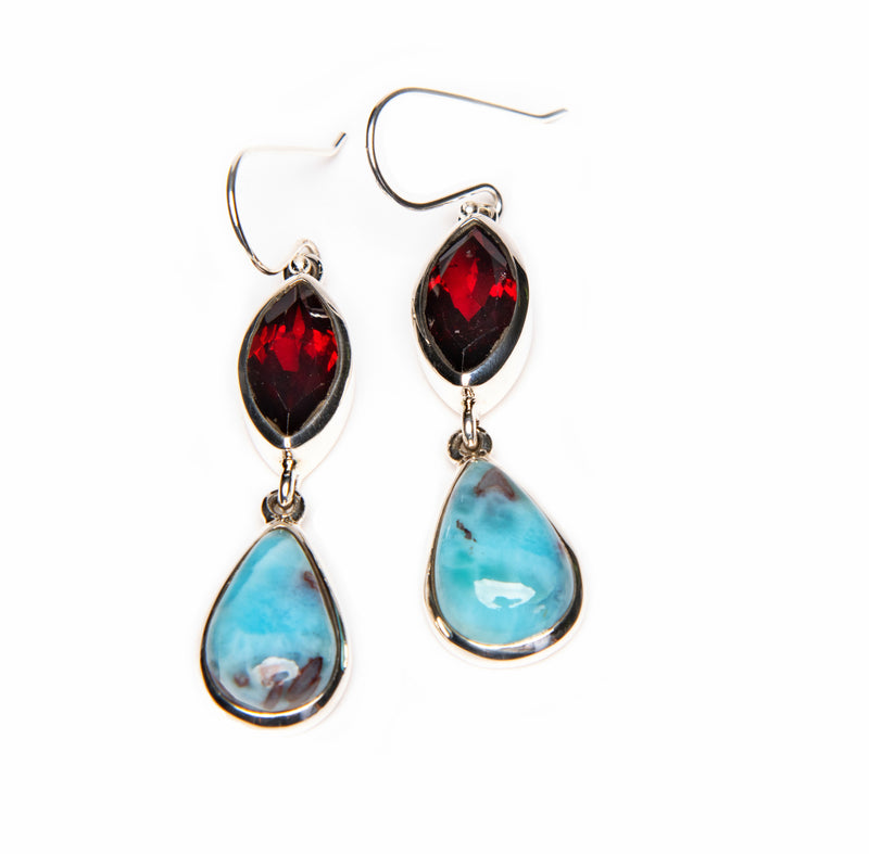 Garnet and Larimar
