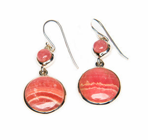 Duo of Round Rhodochrysite-sold