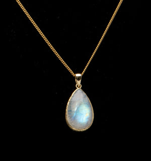 Simply Gold and Moonstone