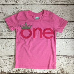 Crown 1st birthday outfit, princess first birthday shirt, little princess shirt
