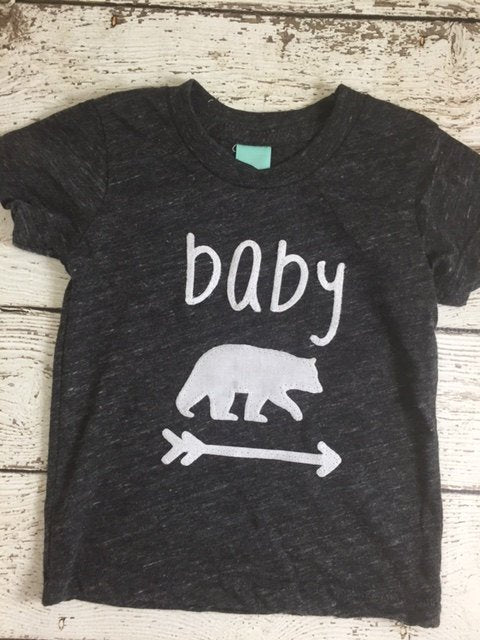baby bear, baby bear shirt, new baby
