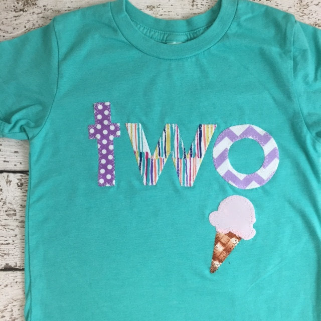 Ice cream party, ice cream outfit, girl's birthday outfit