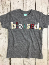 Load image into Gallery viewer, Blessed Shirt, Family shirt, Children's blessed tee