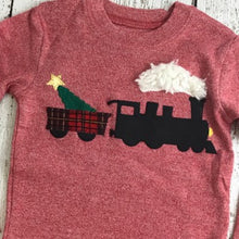 Load image into Gallery viewer, Train pajama, Christmas train, polar