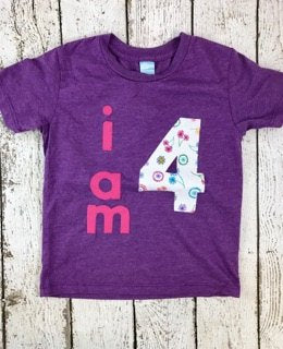 Flower party, girl's birthday shirt, flower shirt