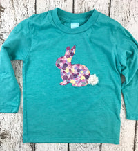 Load image into Gallery viewer, Custom Easter shirt, Hip Hop Easter Bunny Shirt, Easter t-shirt for children