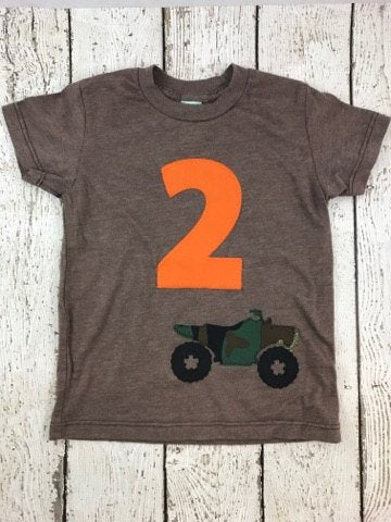 ATV, hunting party, hunting shirt