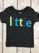 Load image into Gallery viewer, little shirt, birth announcement, sibling shirts