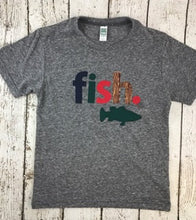 Load image into Gallery viewer, Fishing shirt, bass fish, fishing buddy