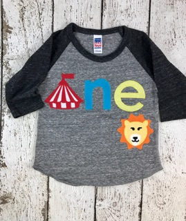 circus birthday shirt, circus shirt, big top