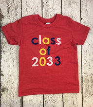 Load image into Gallery viewer, Class of shirt, girl's school shirt, back to school shirt