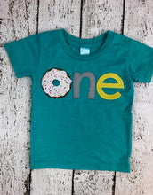 Load image into Gallery viewer, Donut shirt, Donut party, donut birthday shirt