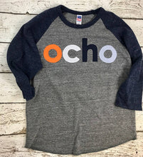 Load image into Gallery viewer, ocho spanish birthday shirt, any birthday, birthday shirt
