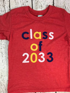 Class of shirt, girl's school shirt, back to school shirt