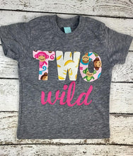 Load image into Gallery viewer, two wild shirt, wild one party shirt, two wild outfit