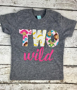 two wild shirt, wild one party shirt, two wild outfit