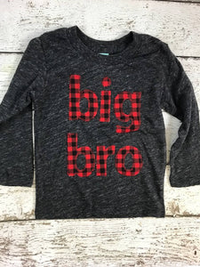 birth announcement shirt, big brother shirt, sibling shirt