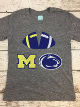 Load image into Gallery viewer, House divided shirts, made to order house divided tees for family, Football shirt