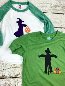 Girl's Halloween Shirt, girl's witch shirt, witch costume