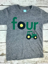 Load image into Gallery viewer, Tractor shirt, tractor birthday shirt, tractor party