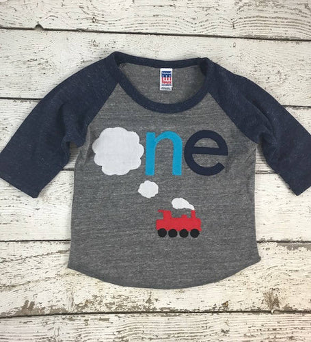 Train birthday outfit, steam train shirt for boys, Train Birthday shirt