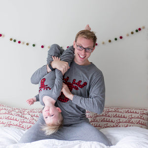 Family Christmas Pajamas, Buffalo Plaid Family Pajamas, *rush available* Matching Family Christmas pajamas