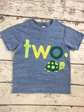 Load image into Gallery viewer, Turtle shirt, turtle outfit, turtle birthday shirt