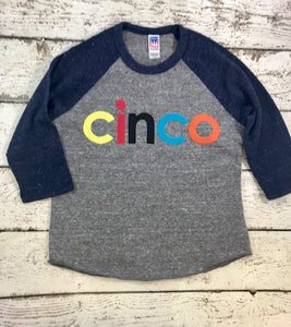 cinco birthday shirt, cinco shirt, birthday shirt