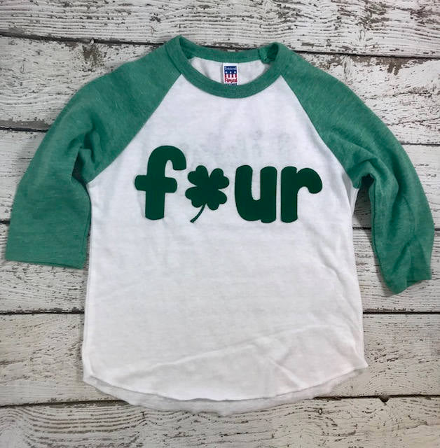 St Patty's baby, shamrock shirt, birthday shirt