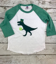 Load image into Gallery viewer, Saint Patrick's Day Dinosaur shirt, St Patricks Day dino shirt, St Patty's day tee