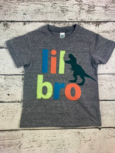 Load image into Gallery viewer, big brother dinosaur shirt, brother dinosaur shirt, dinosaur shirt