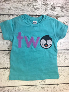 penguin shirt, penguin party, zoo animals